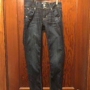 Hudson Collin Skinny jean size 25